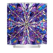 Pineal Opening Shower Curtain