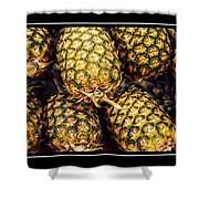 Pineapple Color Shower Curtain