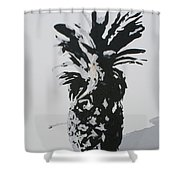 Pineapple Shower Curtain by Katharina Filus