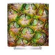 Pineapple Skin Shower Curtain