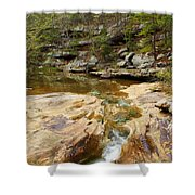 Piney Creek In Southern Illinois Shower Curtain