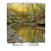 Piney Creek Reflections Shower Curtain