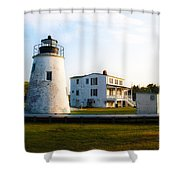 Piney Point Maryland Shower Curtain