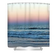 Pink And Blue Sky Shower Curtain