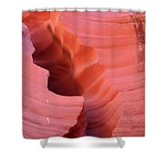 Pink Cleft II - Antelope Canyon Shower Curtain