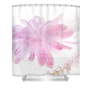 Pink Float Shower Curtain