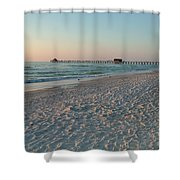 Pink Florida Sands Shower Curtain