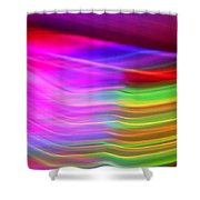 Pink Fusion Shower Curtain