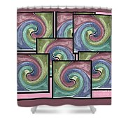 Pink Healing Shower Curtain