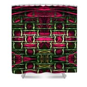 Pink Illusion Shower Curtain