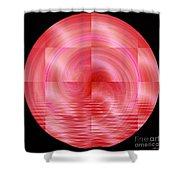 Pink Lemonade Shower Curtain