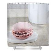 Pink Macaroon Shower Curtain