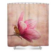 Pink Magnolia I Shower Curtain