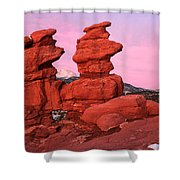Pink Morning Shower Curtain