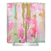 Pink N Glam Shower Curtain