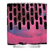Pink Perfed Shower Curtain