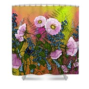 Pink Pleasure Shower Curtain