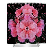 Pink Punch Shower Curtain