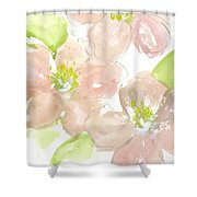 Pink Quince Shower Curtain