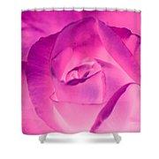 Pink Rose - Photopower 1790 Shower Curtain