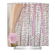 Pink Sweetness Shower Curtain