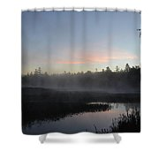 Pink Tint Shower Curtain