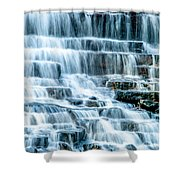Pinnacle Lake Dam Shower Curtain