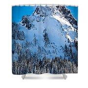 Pinnacle Peak Winter Glory Shower Curtain