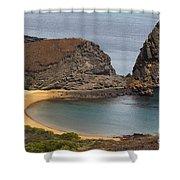Pinnacle Rock Galapagos Shower Curtain