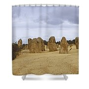 Pinnacles Australia Shower Curtain
