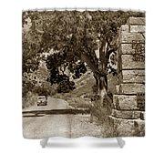 Pinnacles National Monument California Circa 1946 Shower Curtain