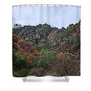 Pinnacles National Park Shower Curtain