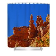 Pinnacles Of Red Rock Shower Curtain