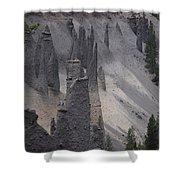 Pinnacles Valley Shower Curtain
