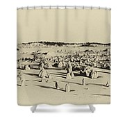Pinnacles Shower Curtain