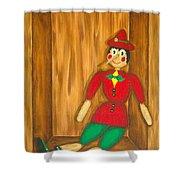 Pinocchio Shower Curtain