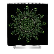 Pinwheel I Shower Curtain