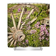 Pioneer Blossoms - Casper Wyoming Shower Curtain