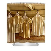 Pioneer Days-child's Dresses Shower Curtain