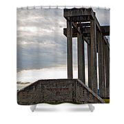 Pioneer Sand And Gravel Pit Shower Curtain