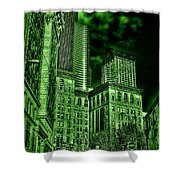 Pioneer Square In The Emerald City - Seattle Washington Shower Curtain