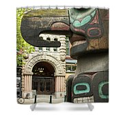 Pioneer Square Seattle Shower Curtain