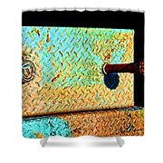 Pipe Box Shower Curtain