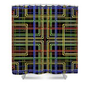 Pipe Dreams 3 Shower Curtain