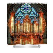 Pipe Organ Shower Curtain