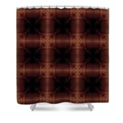 Pipe Works Shower Curtain