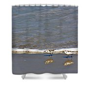 Pipers Shower Curtain