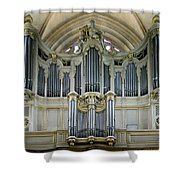 Pipes In Paris Shower Curtain