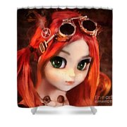 Pippi Shower Curtain
