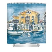 Piran - Tartini Theatre Shower Curtain